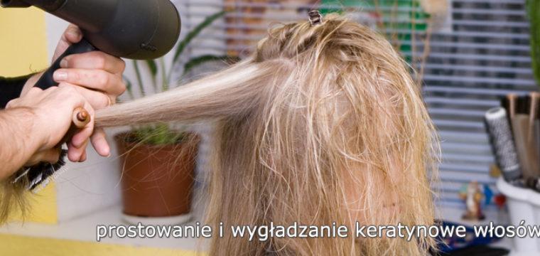 Prostowanie i wygładzanie keratynowe włosów